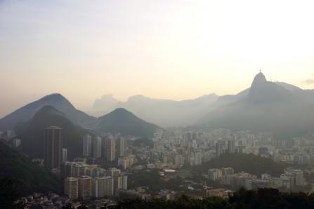 View over Rio from Pão de Açúcar, Rio De Janiero, Brazil