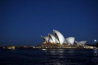 Sydney Opera House by Night, Sydney, Australia