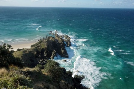 Headland at Byron Bay, Australia