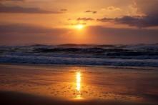 5:56am Sunrise on K'Gari (Fraser Island), Australia